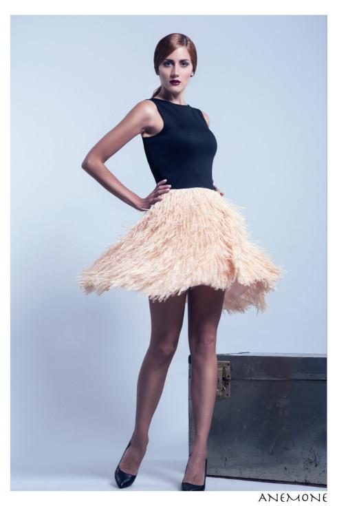 Anemone midi dress