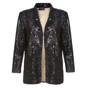 Purple sequin jacket 1