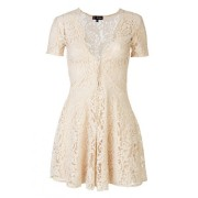 Xanthe ivory lace dress
