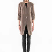Tribeca oversized jacket front