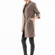 Tribeca oversized jacket side