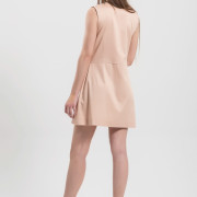 H-era pink wrap dress back