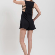 H-era black playsuit back