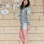 h-era brocard mini dress side