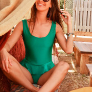 h-era emerald one-piece
