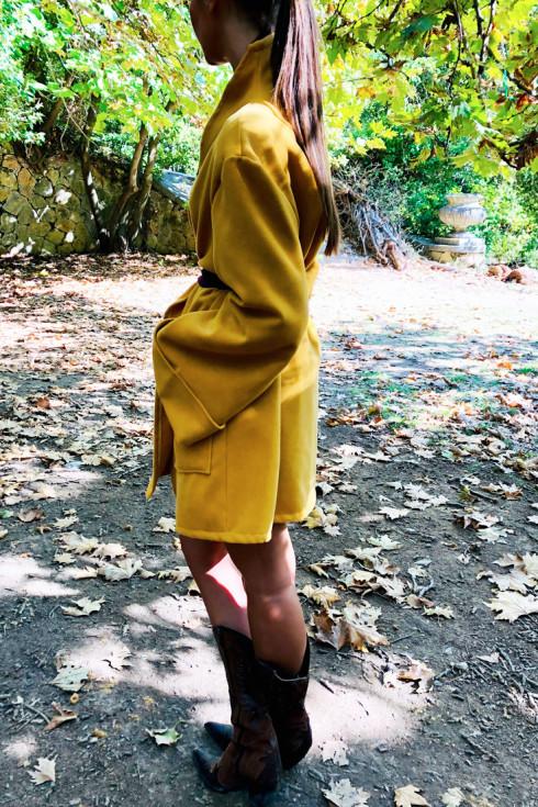 hera mustard jacket