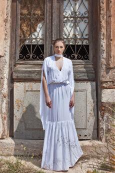 hera maxi white dress