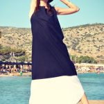 patmos black and white dress