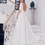 hera white long wedding dress