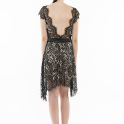 Saint Germain open back lace dress back