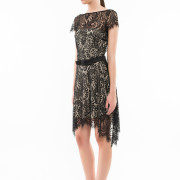 Saint Germain open back lace dress side