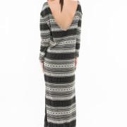 Nolita oversized long knitted dress back