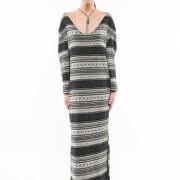 Nolita oversized long knitted dress front