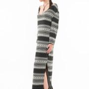 Nolita oversized long knitted dress side