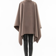 Balzac oversized turtle neck cape back