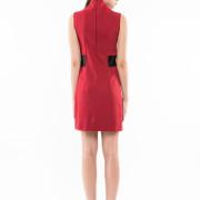 Montmartre tight fit sleeveless dress back