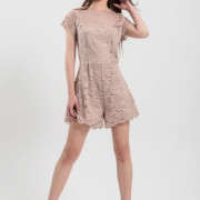 H-era lace playsuit