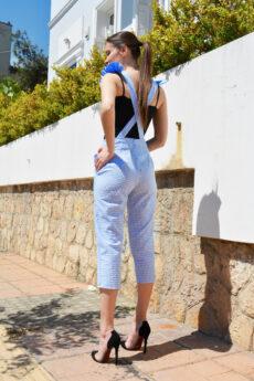 h-era baby blue pants back