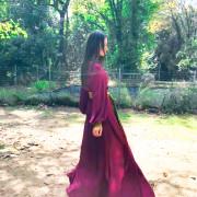 hera maxi magenda dress