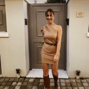 h-era leather dress