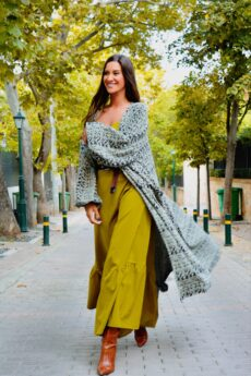 h-era knitted jacket