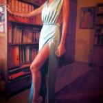 maxi mint dress